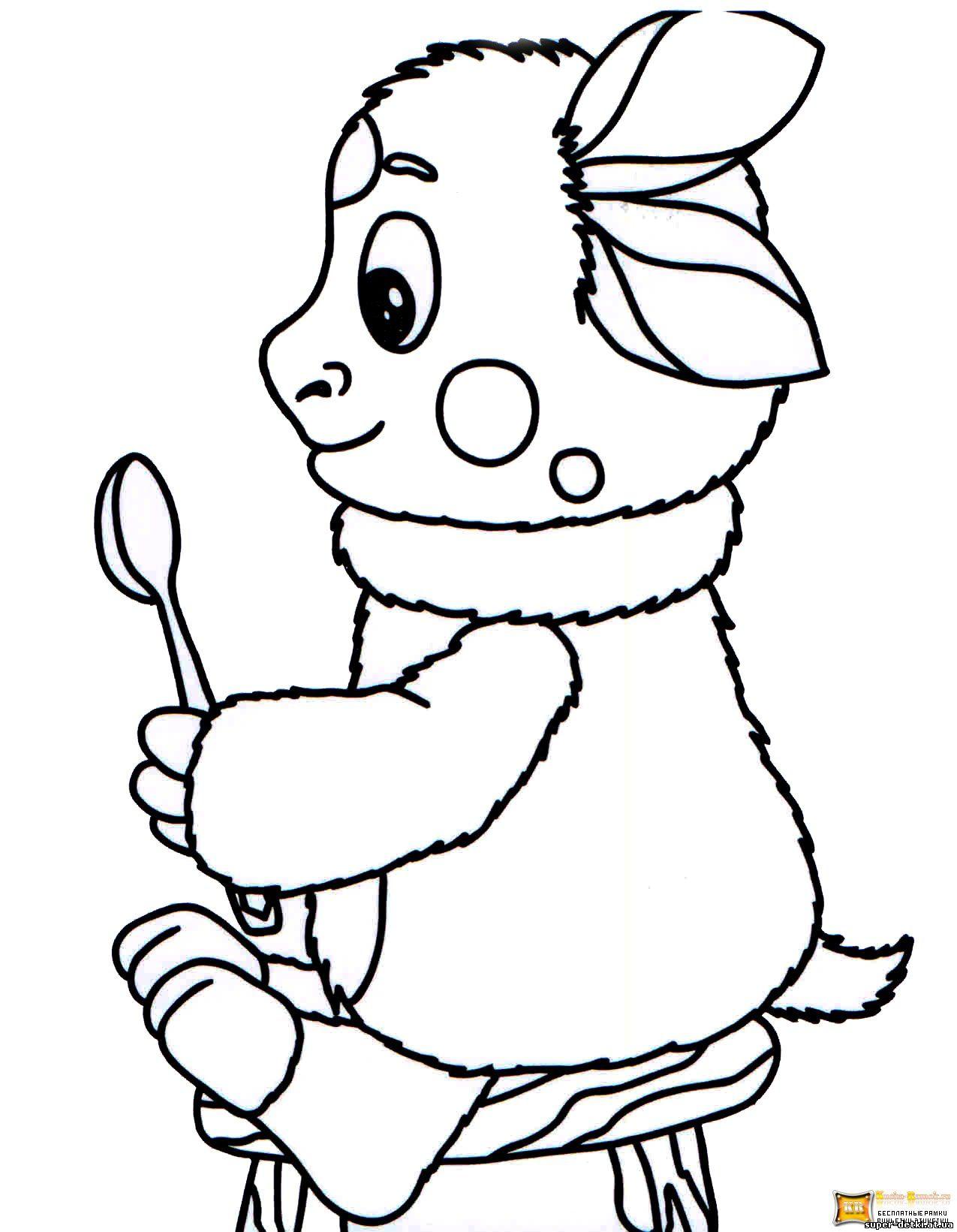 Мальчик в зимней одежде раскраска